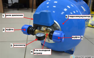 Датчик давления гидроаккумулятора