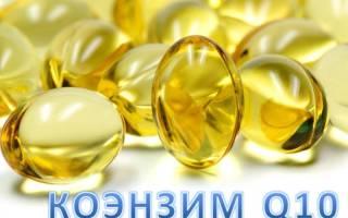 Q10 coenzyme как принимать