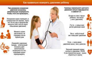 Артериальное давление у детей таблица по возрасту 7 лет