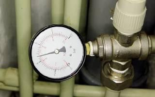 Давление и напор воды в трубе