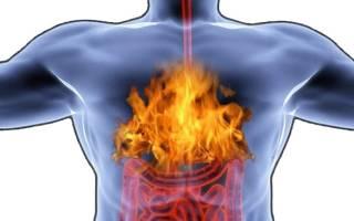 Жжение в грудной клетке и высокое давление