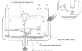 Датчик давления для воды для низкого давления