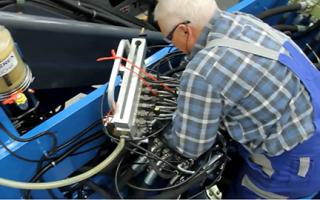 Датчики измерения давления в гидроцилиндре