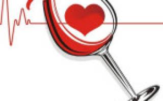 Алкогольная аритмия сердца
