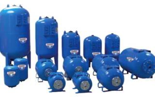 Бак давления воды в системе отопления