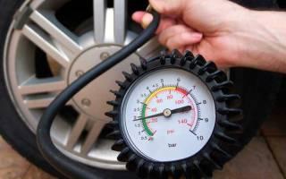 Единицы измерения давления в колесах