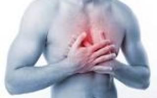 Больно в грудной клетке